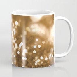 Pure Gold - Christmas Gold Glitter Coffee Mug