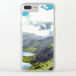Snowdon. Clear iPhone Case