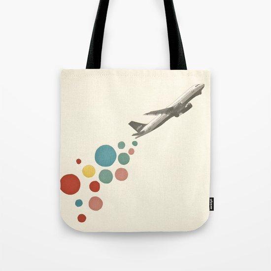 Leaving on a Jet Plane Tote Bag