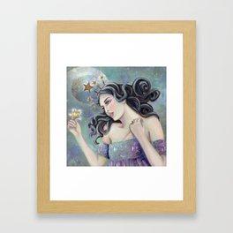 Asteria - Goddess of Stars Framed Art Print