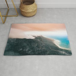 Table Mountain, South Africa Rug