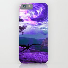 Lonely Dragon iPhone Case