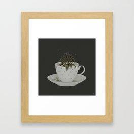 Echinacea tea Framed Art Print