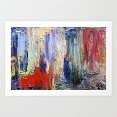 Untitled Abstract #5 Art Print