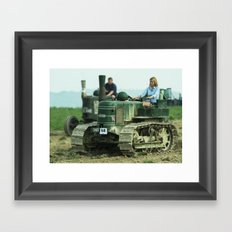 Lady Crawler Framed Art Print