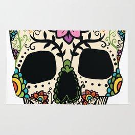 Color Skull Rug