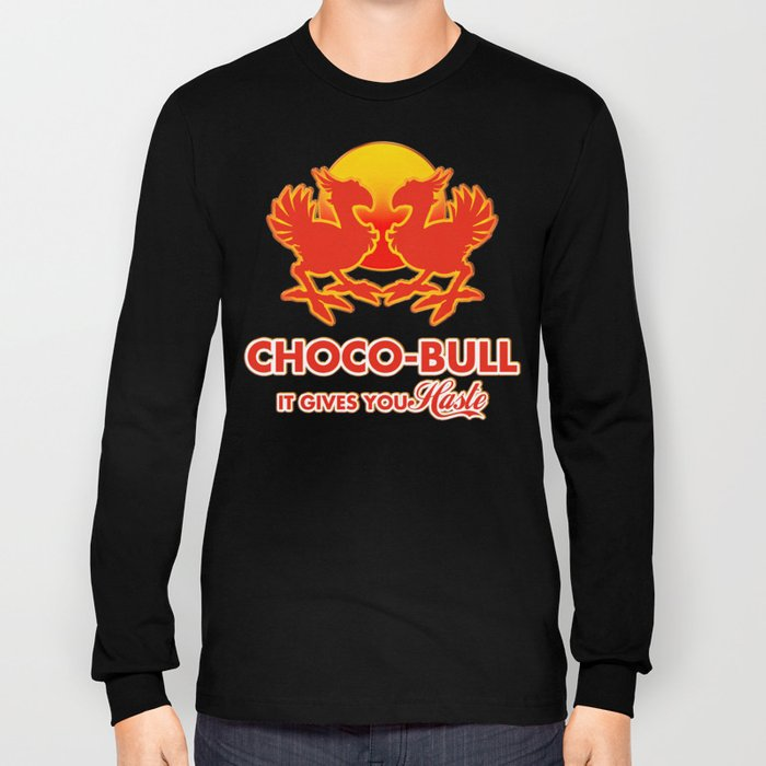 Final Fantasy VII - Choco-Bull Energy Drink Long Sleeve T-shirt