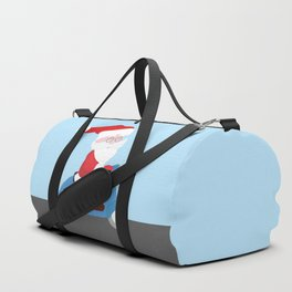 Santa Claus coming to you on his Scooter Duffle Bag