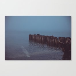 Where the Water Ends-3 Canvas Print