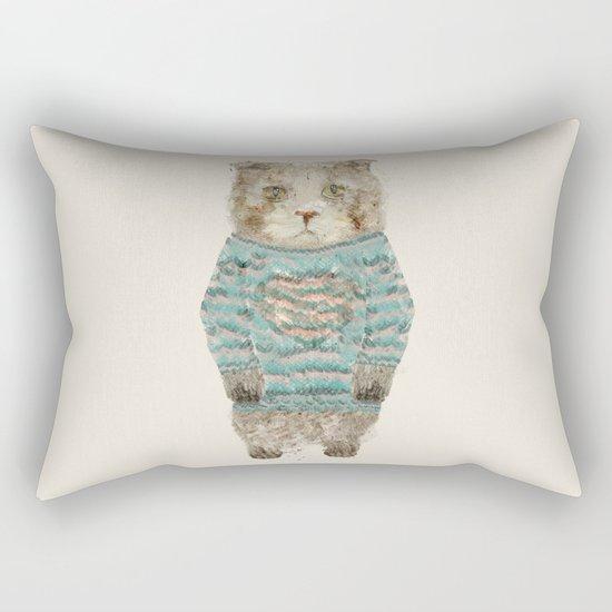 little kitty Rectangular Pillow
