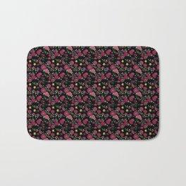 Project 52 | Roses on Black Bath Mat