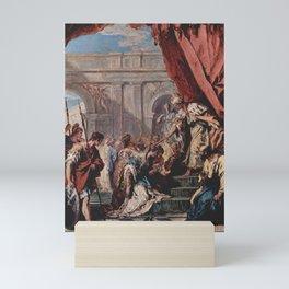 Sebastiano Ricci - Esther before Ahasuerus Mini Art Print