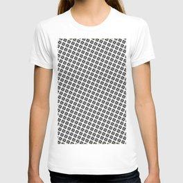 black white T-shirt