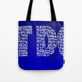 JUST DON'T Tote Bag