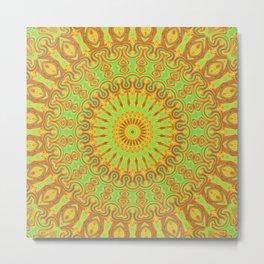 Vibrant Kaleidsocope 2 Metal Print
