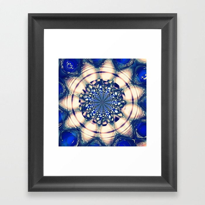 Baby's got blue eyes Framed Art Print