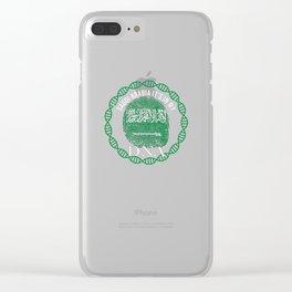 Saudi Arabia Its In My DNA Clear iPhone Case
