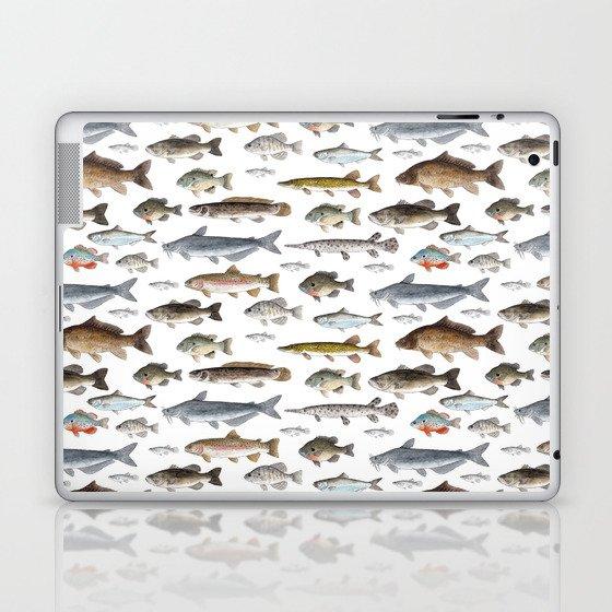 A Few Freshwater Fish Laptop & iPad Skin