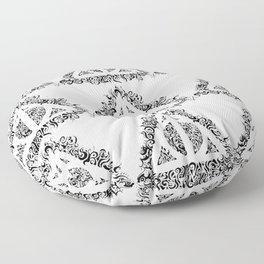 Reliquias de la muerte con formas mágicas Floor Pillow