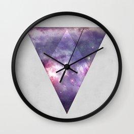 Space Tri Wall Clock