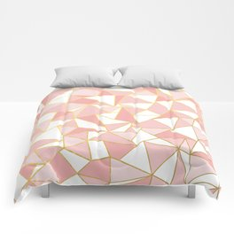 Ab Out Blush Gold 2 Comforters