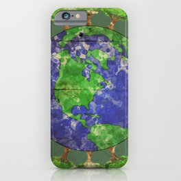 Lungs of the Earth iPhone Case