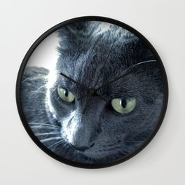 Purrr-fect Wall Clock