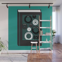 The Gears of Craft Wall Mural