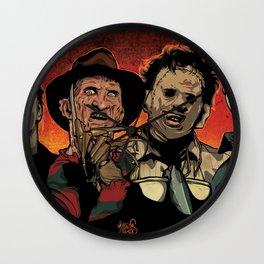 Horror Flick Wall Clock