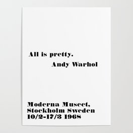 all is pretty Poster