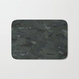 Camouflage: Black Bath Mat