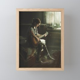 Ellie The last of us Framed Mini Art Print