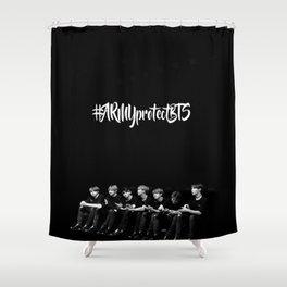 #ArmyprotectBTS Shower Curtain
