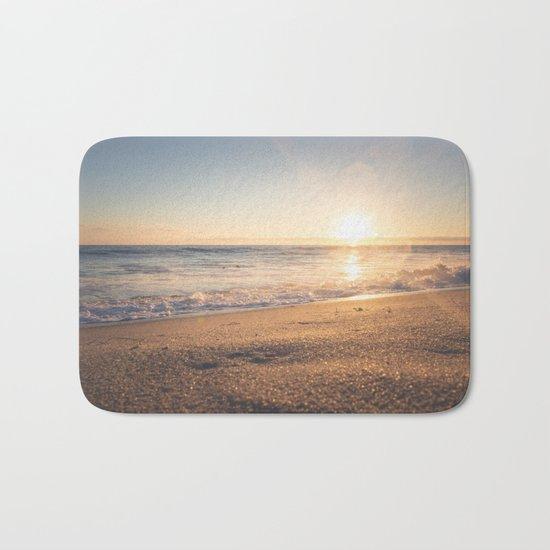 Sunspot in the Sand Bath Mat