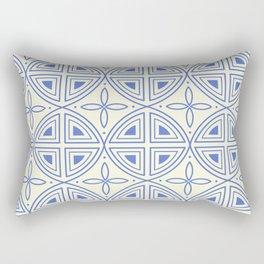 Modern Flower Pattern Art Rectangular Pillow