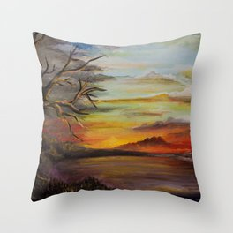 Romancing the Memory Throw Pillow