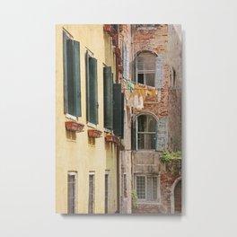 Clean Sheets, Venice Metal Print