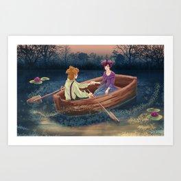 Love Evening Art Print