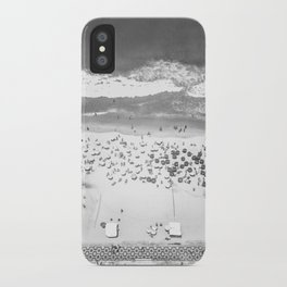 TOP IPANEMA B&W iPhone Case