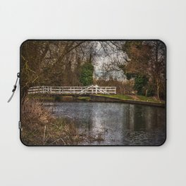 Sulhamstead Swing Bridge On The Kennet and Avon Laptop Sleeve
