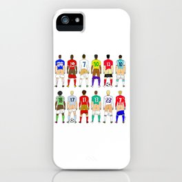 Soccer Butts iPhone Case