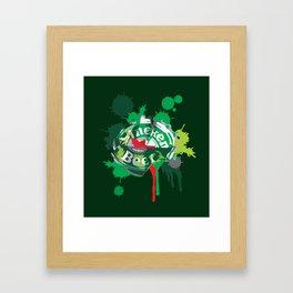 Heineken cap Framed Art Print