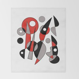Abstract #790 Throw Blanket