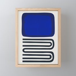 Out Of The Blue Framed Mini Art Print