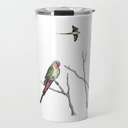 Princess Parrot Travel Mug