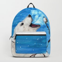 Polar Bear with Toasted Marshmallow Backpack