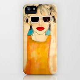 Pixel Sunglasses 01 iPhone Case