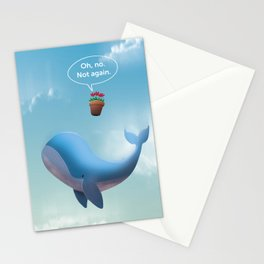 Oh, no. Not Again. Hitchhiker's Guide to the galaxy Stationery Cards