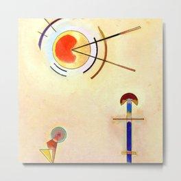Wassily Kandinsky Flat Metal Print