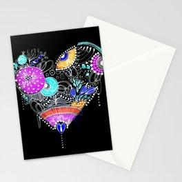 CRAZY HEART Stationery Cards